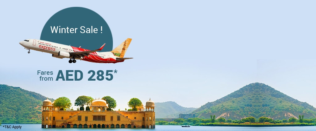 Air India Express Winter Sale: Fares from AED 285 - Via com